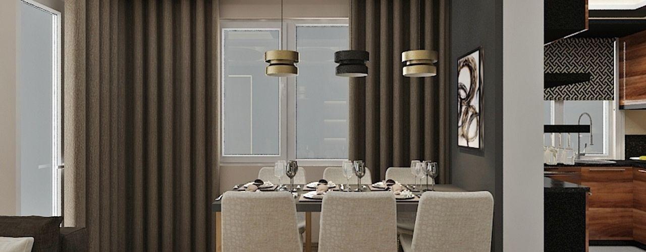 Aker Evi- Antalya PRATIKIZ MIMARLIK/ ARCHITECTURE Modern Yemek Odası