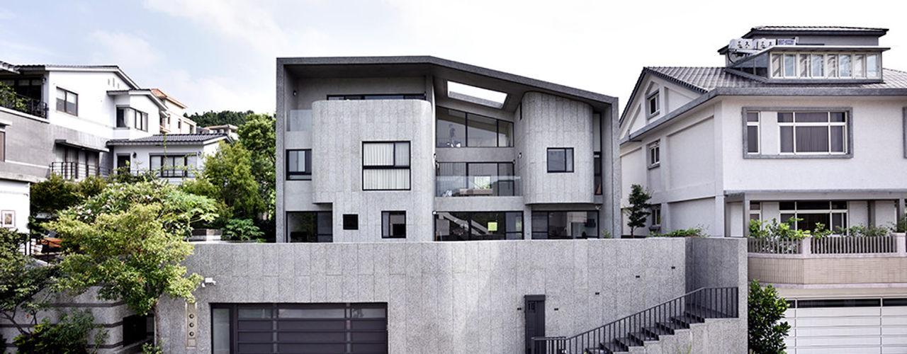 光合之家 行一建築 _ Yuan Architects 現代房屋設計點子、靈感 & 圖片