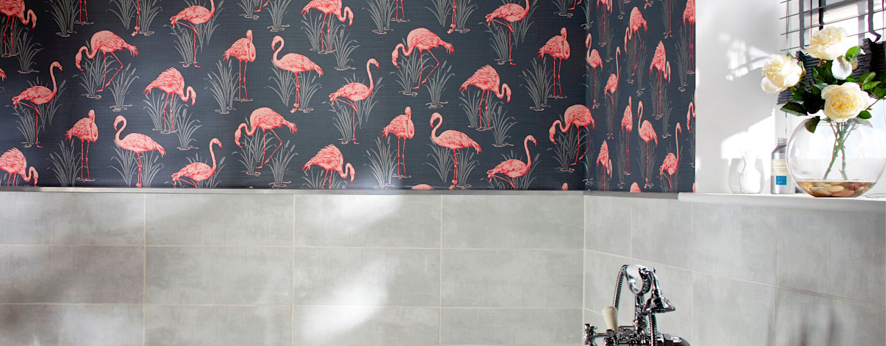 homify Tropical style bathrooms
