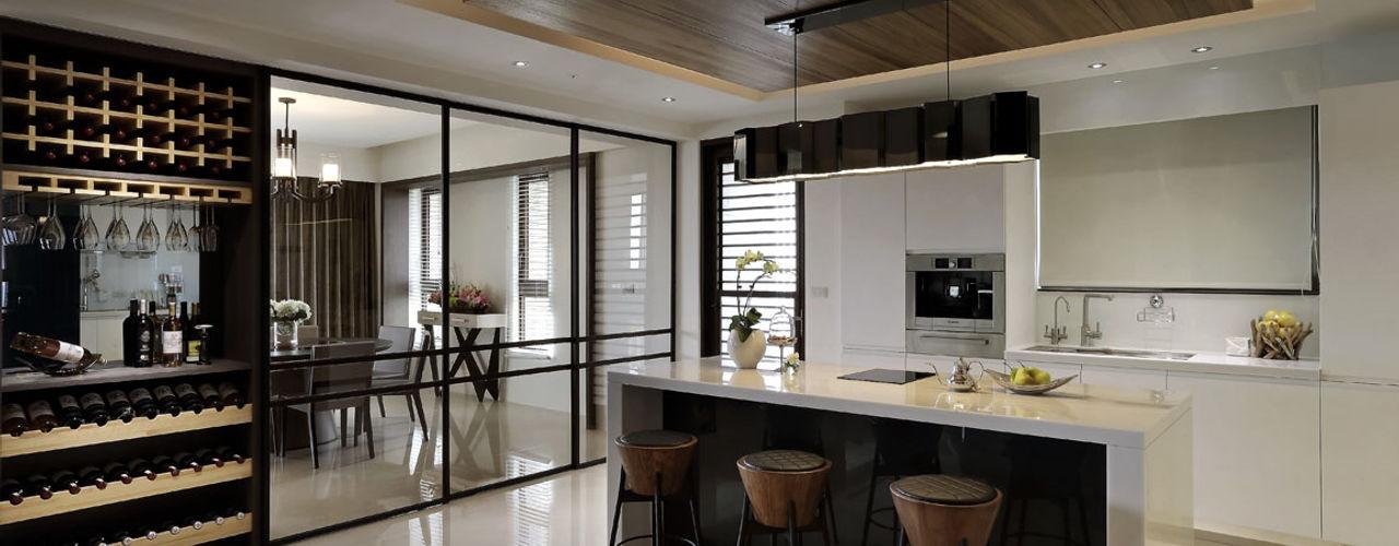 從容 楊允幀空間設計 現代廚房設計點子、靈感&圖片