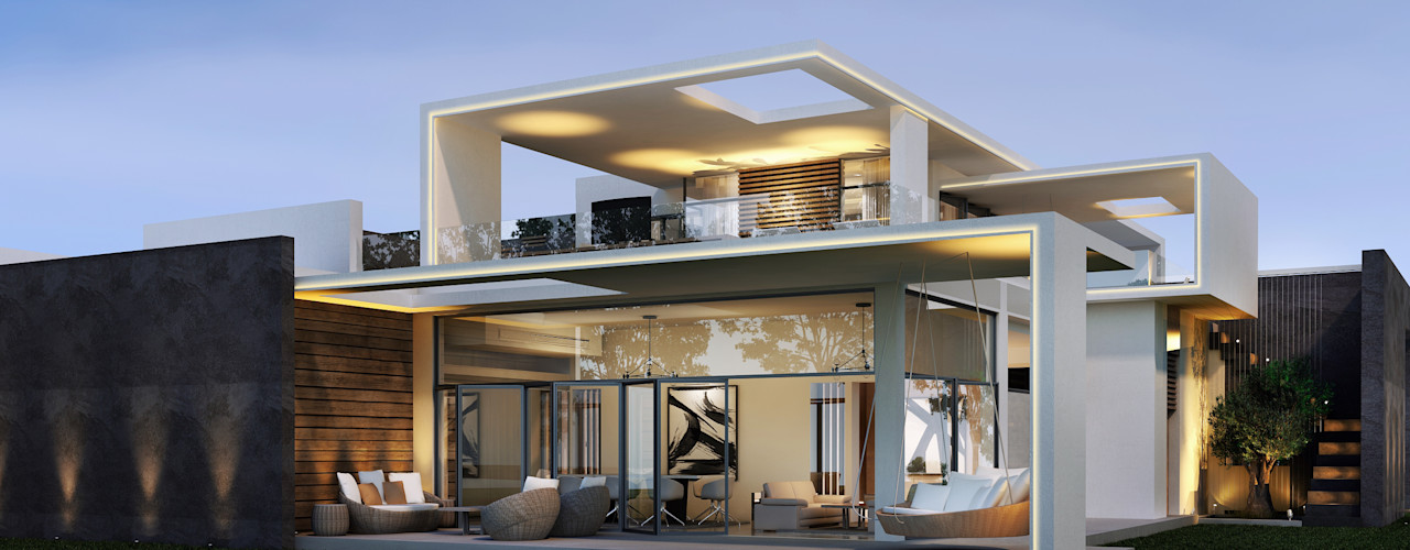 SA Architects and Partners Parcelas de agrado Blanco