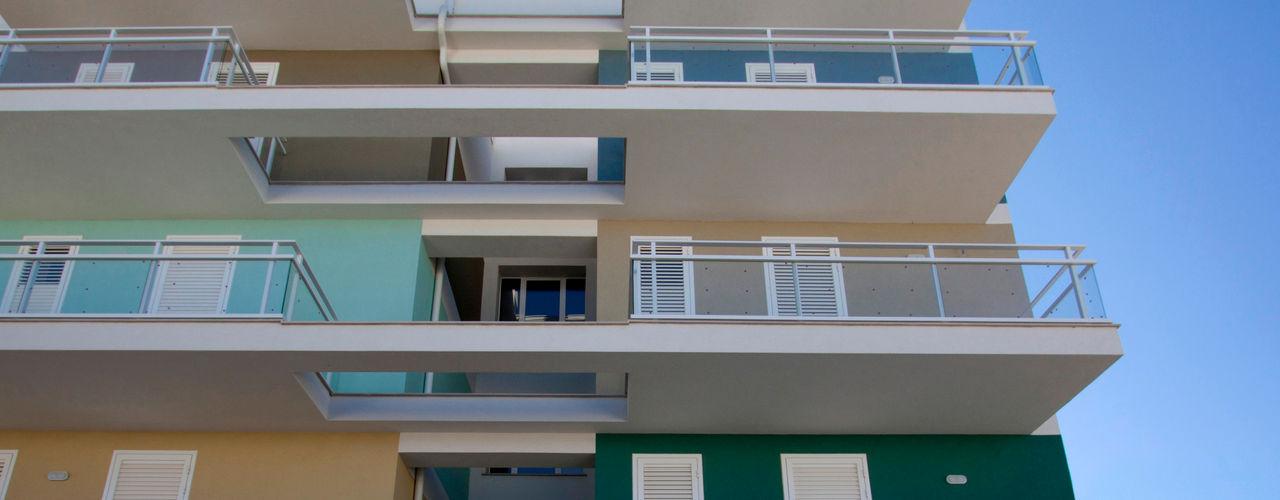 Complesso residenziale MINERVA - 23 alloggi sociali di edilizia convenzionata studio di architettura Antonio Giummarra Condominio