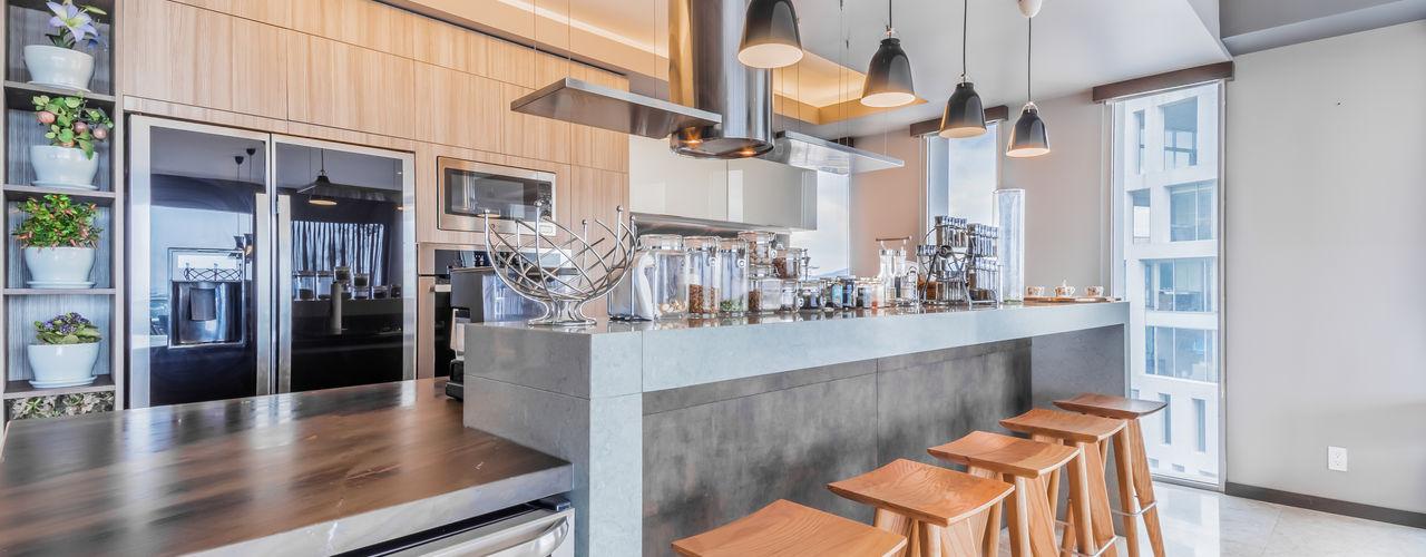 ECKEN virtual spaces Modern style kitchen