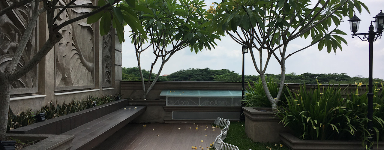 Lighthouse Architect Indonesia Jardines de estilo clásico