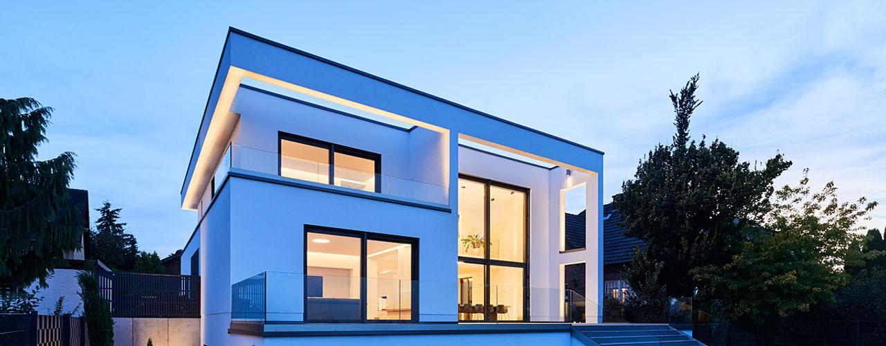 EFH in Bornheim Philip Kistner Fotografie Moderne Häuser Weiß