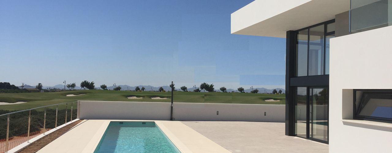 TI DYOV STUDIO Arquitectura, Concepto Passivhaus Mediterraneo 653 77 38 06 Villas Arenisca Blanco