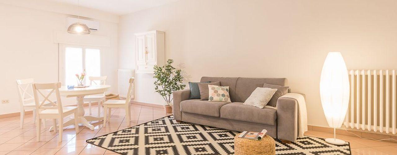 Anna Leone Architetto Home Stager غرفة المعيشة