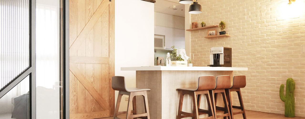 樂宅設計 系統傢俱 Eclectic style dining room