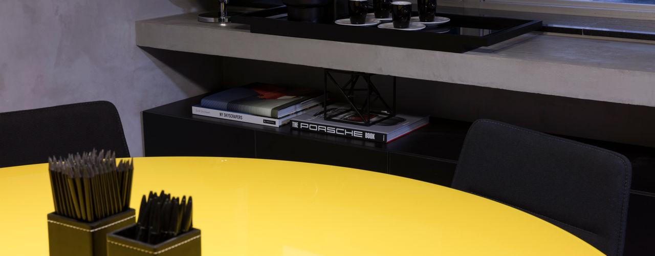 DGBT OFFICE - Higienópolis Semíramis Alice Arquitetura & Design Espaços comerciais modernos