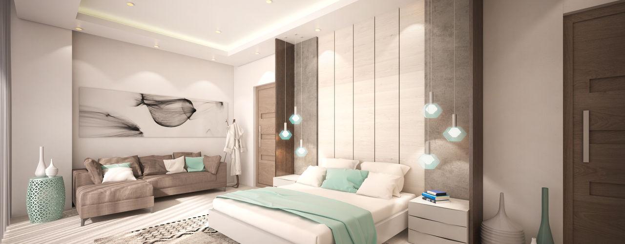 Dessiner Interior Architectural Modern style bedroom