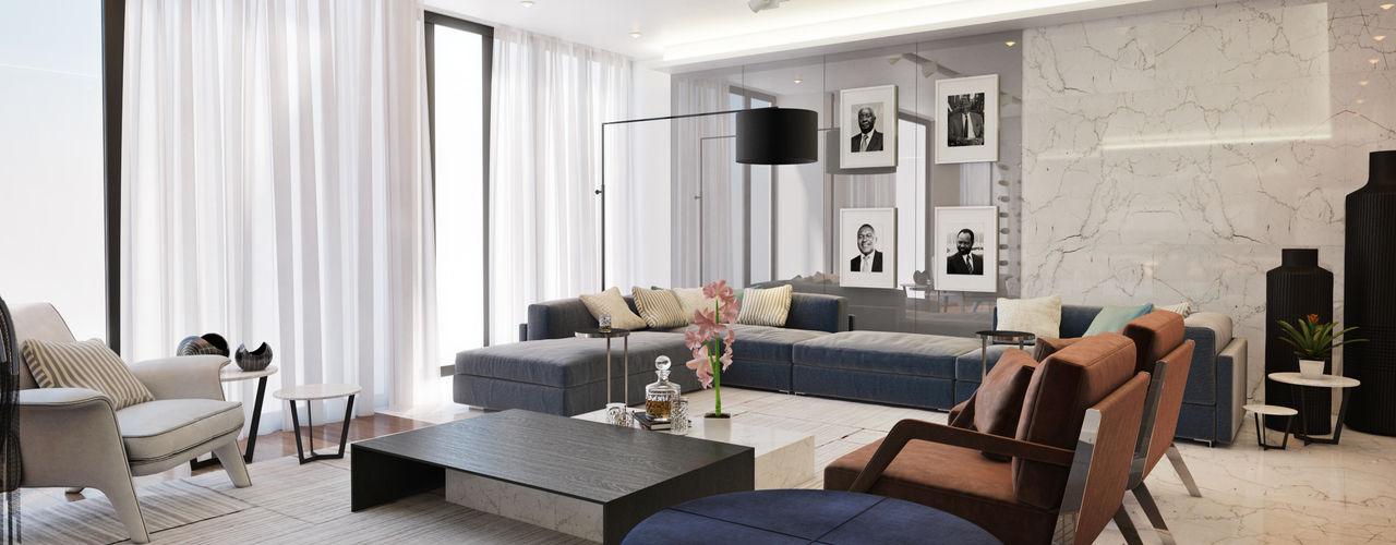 Contemporary Pretoria Residence Dessiner Interior Architectural Modern kitchen