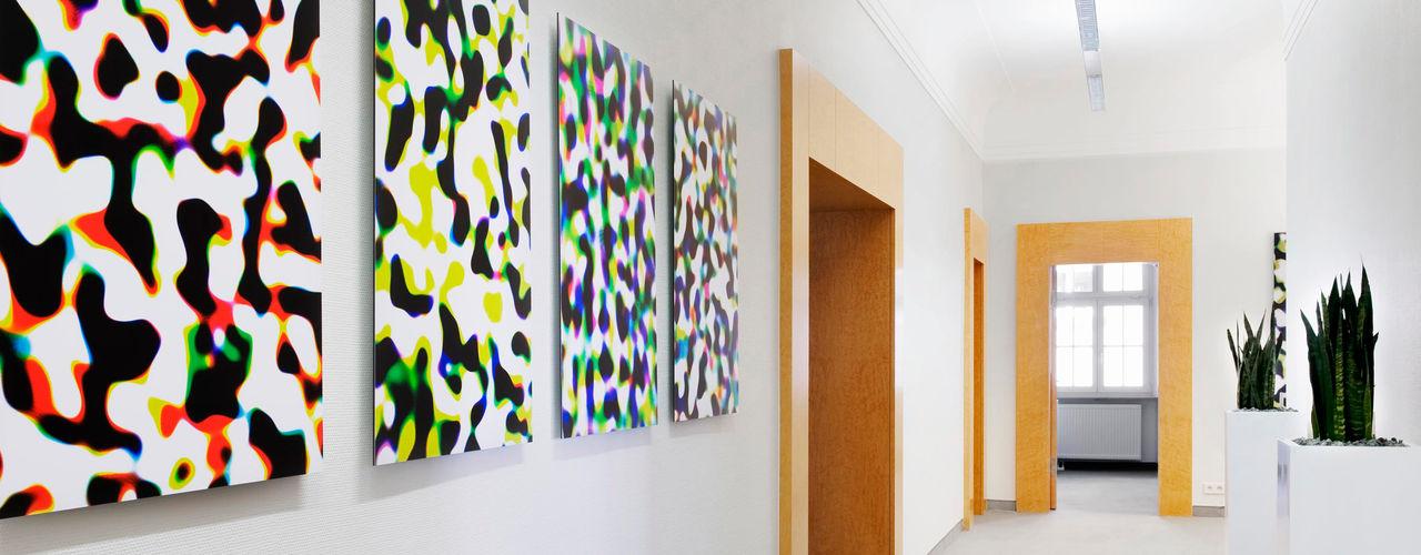 THEOPARK Rechtsanwalts und Steuerkanzlei Marius Schreyer Design Moderne Geschäftsräume & Stores