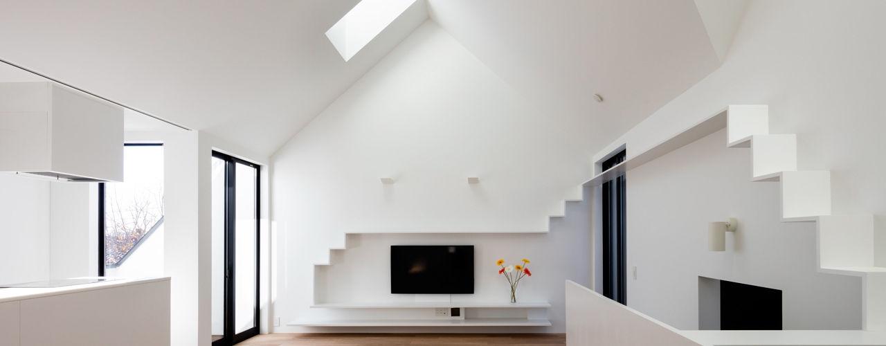 石川淳建築設計事務所 Living room White