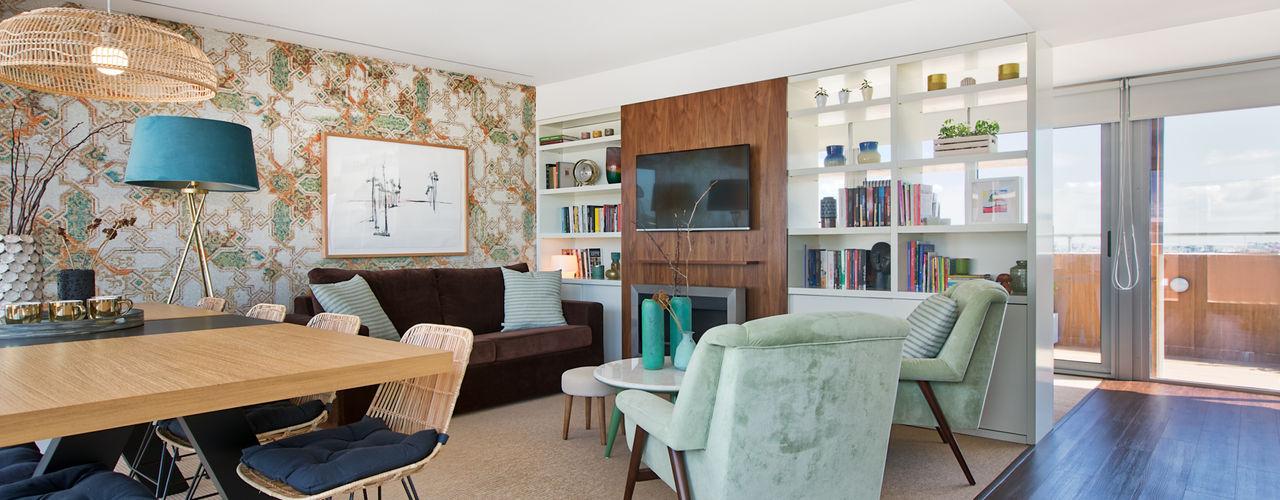 Lumiar - T3 Duplex ShiStudio Interior Design Sala de estarAcessórios e Decoração
