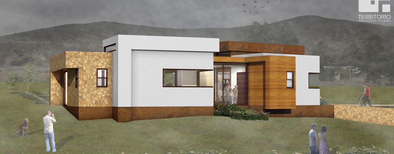 Proceso diseño y construcción Vivienda Premium 115m2 Fundo Loreto Territorio Arquitectura y Construccion - La Serena