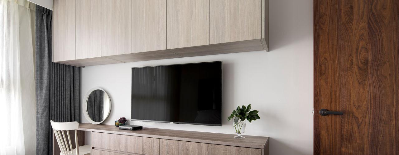 新北24坪機能住宅 鈊楹室內裝修設計股份有限公司 臥室