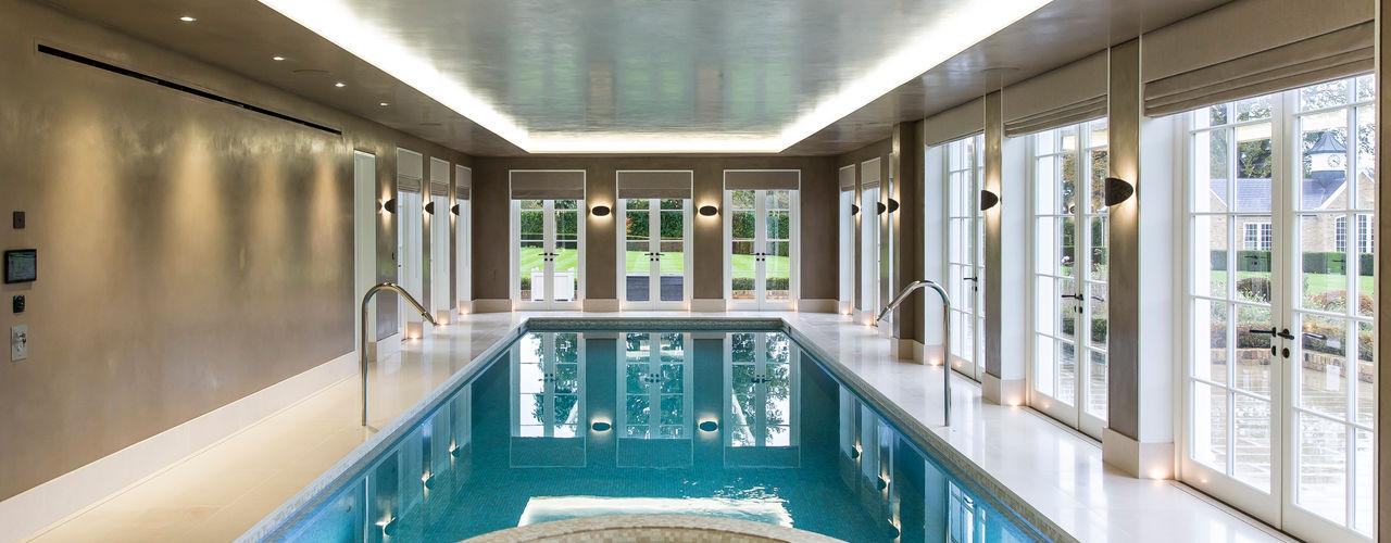 Light Fantastic London Swimming Pool Company Infinity pool Concrete Beige