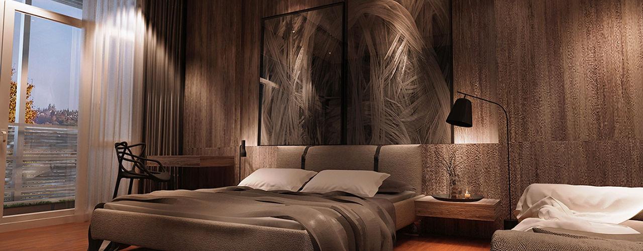Norm designhaus Modern style bedroom
