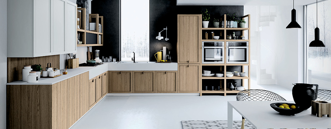 Cucine moderne ROOM 66 KITCHEN&MORE Cucina attrezzata