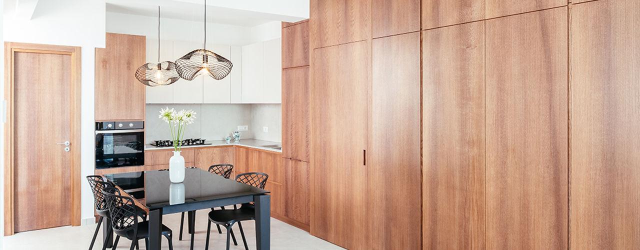Casa ESSE manuarino architettura design comunicazione Cucina attrezzata Legno Beige