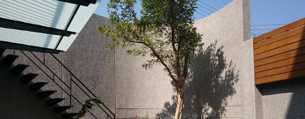 建築設計 神岡 SL House 黃耀德建築師事務所 Adermark Design Studio 石頭庭院