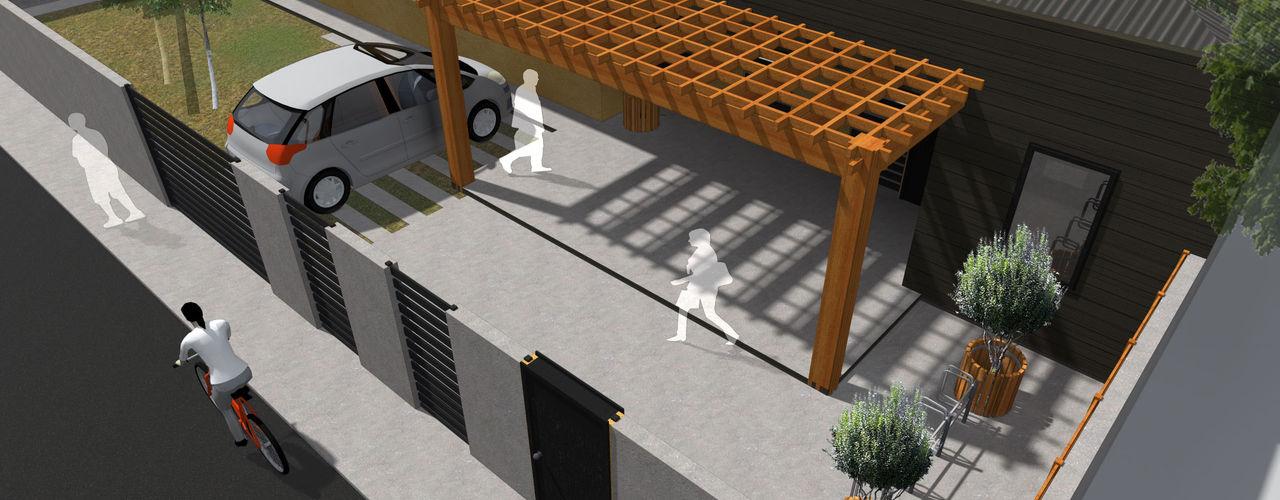 Vicente Espinoza M. - Arquitecto Single family home Wood