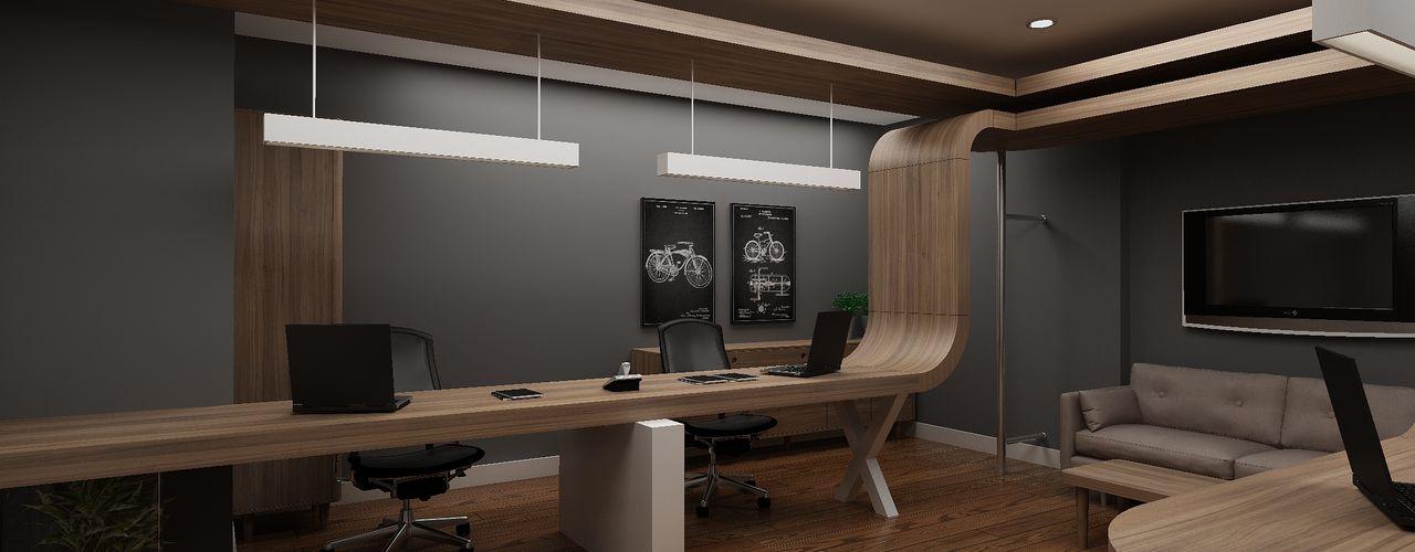 Nish İstanbul Remzi Solmaz Ofis Dekorasyonu Grand Office Modern Çalışma Odası