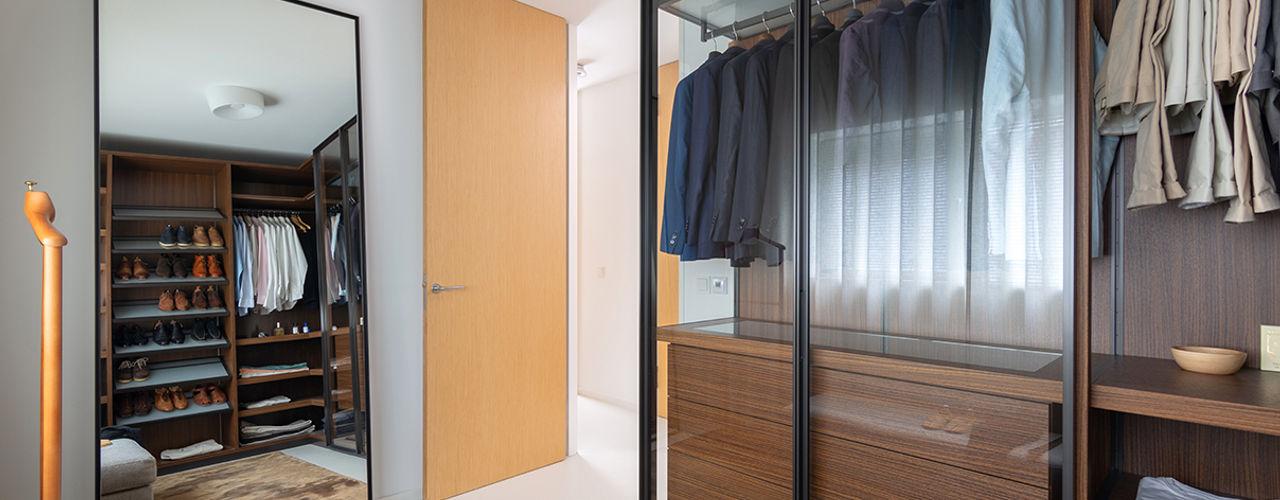 Interieurplan woonhuis Nieuw Leiden Regina Dijkstra Design Moderne kleedkamers