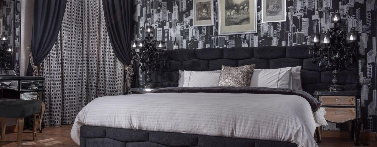 NADIA .Gallery BedroomBeds & headboards Kayu Black
