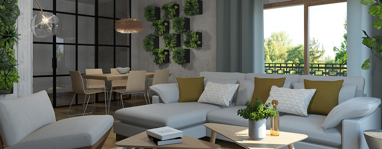 3 estilos para decorar tu salón Glancing EYE - Asesoramiento y decoración en diseños 3D Salones de estilo moderno