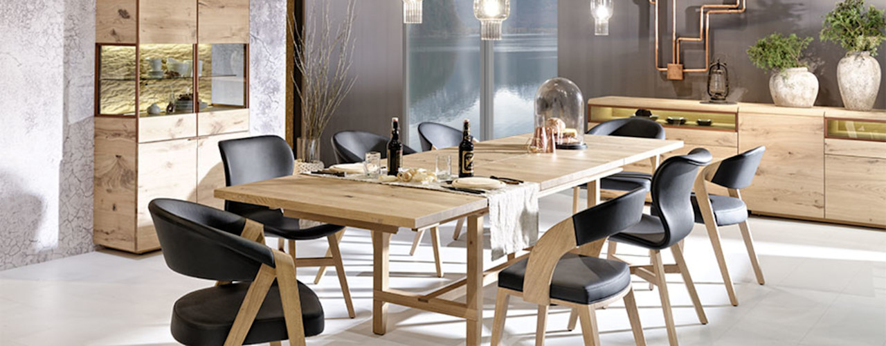 Le design allemand dans toute sa splendeur Imagine Outlet Salle à mangerTabourets & bancs Bois Marron