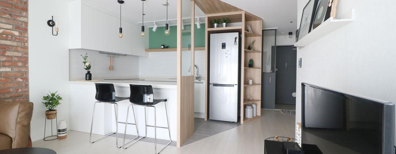 스튜디오쏭 (STUDIO SSONG) Modern Kitchen
