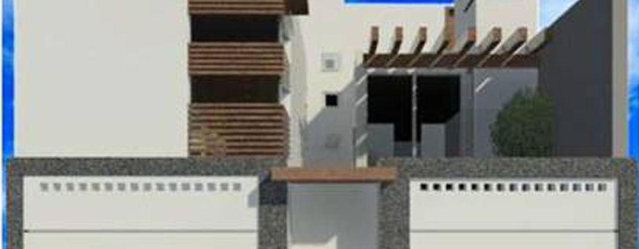8 AM INGENIERIA Casas de estilo minimalista