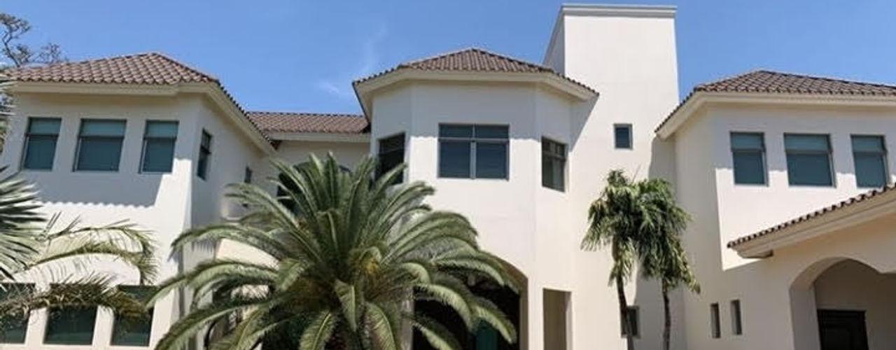Villa Toscana SG Huerta Arquitecto Cancun Villas Caliza Beige