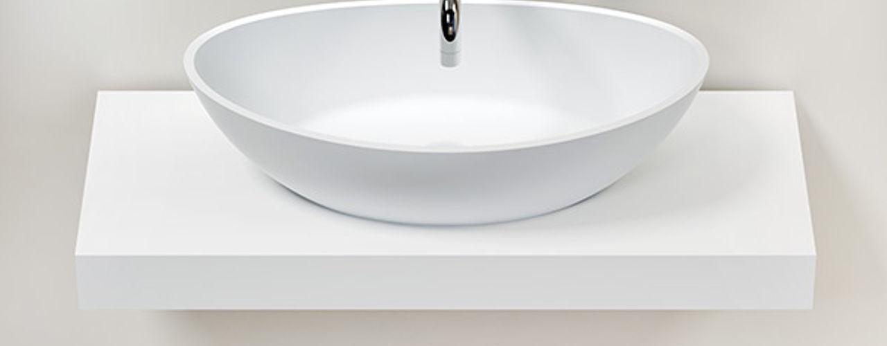 Badeloft - Badewannen und Waschbecken aus Mineralguss und Marmor BathroomStorage White