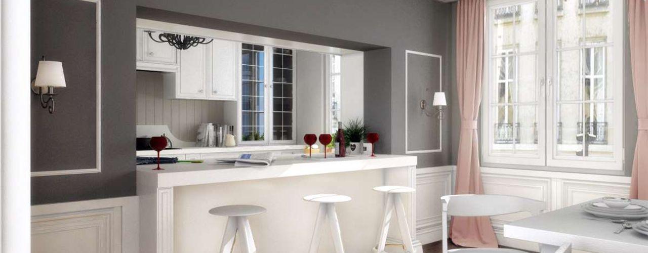 Yunus Emre   Interior Design VERO CONCEPT MİMARLIK Moderne keukens