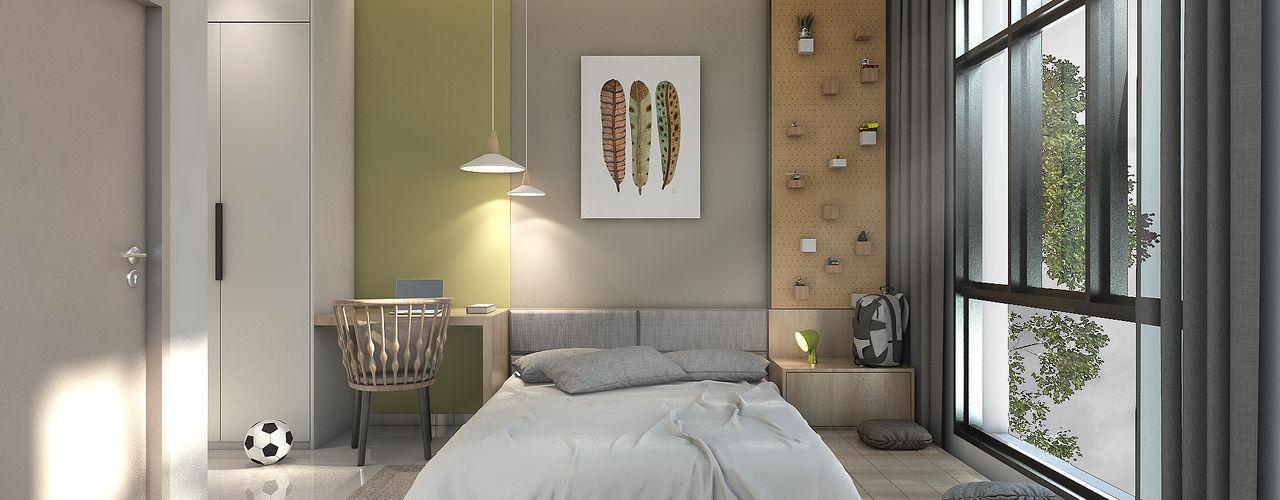 Oriwise Sdn Bhd Dormitorios de estilo moderno