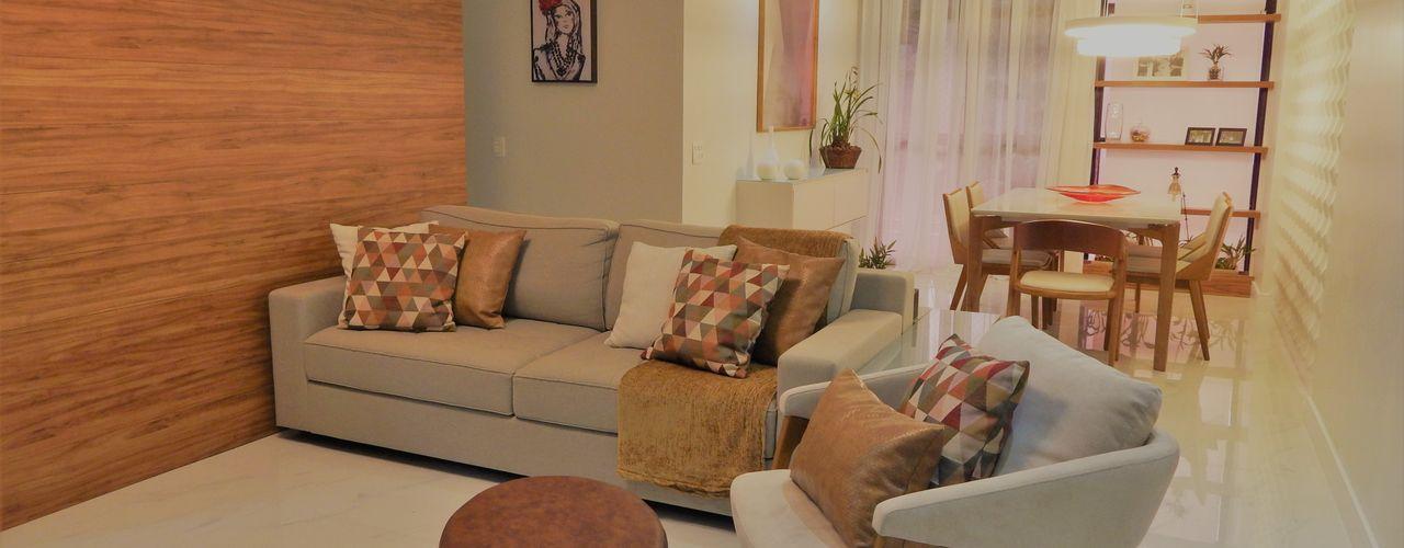 Izabella Biancardine Interiores Modern Living Room