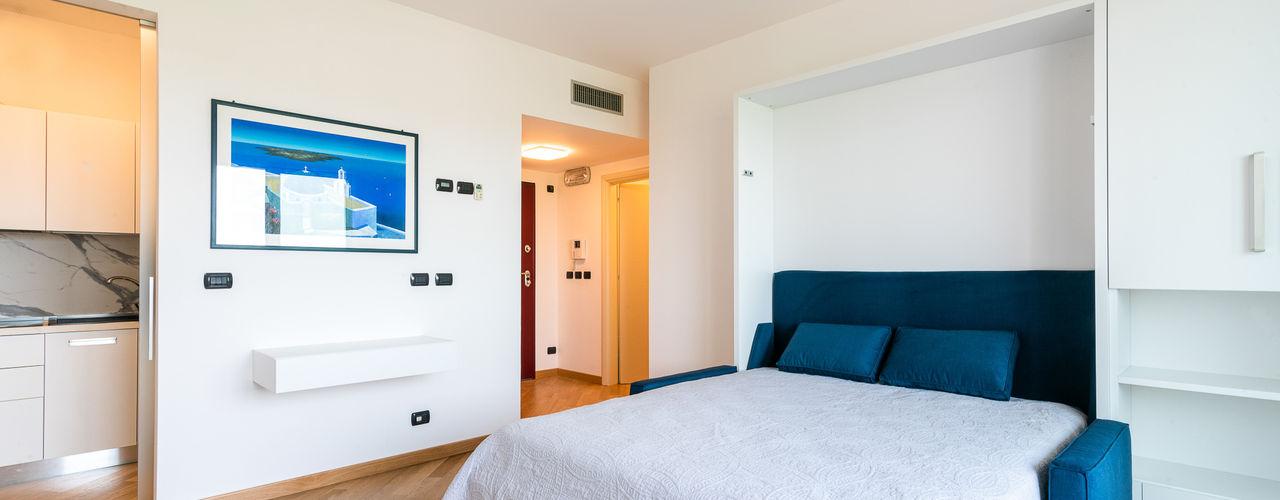 Casa JM2 Marco D'Andrea Architettura Interior Design Camera da letto moderna