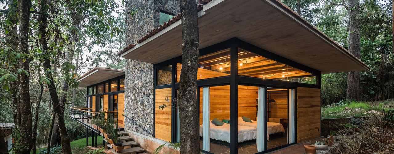 Saavedra Arquitectos Modern Houses Concrete Grey