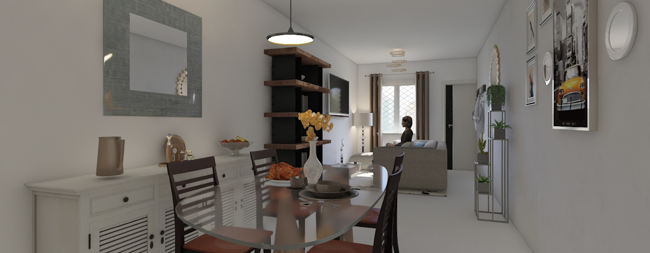 Diseño y decoración de interiores Pereira Arkiline Arquitectura Optativa Comedores de estilo moderno