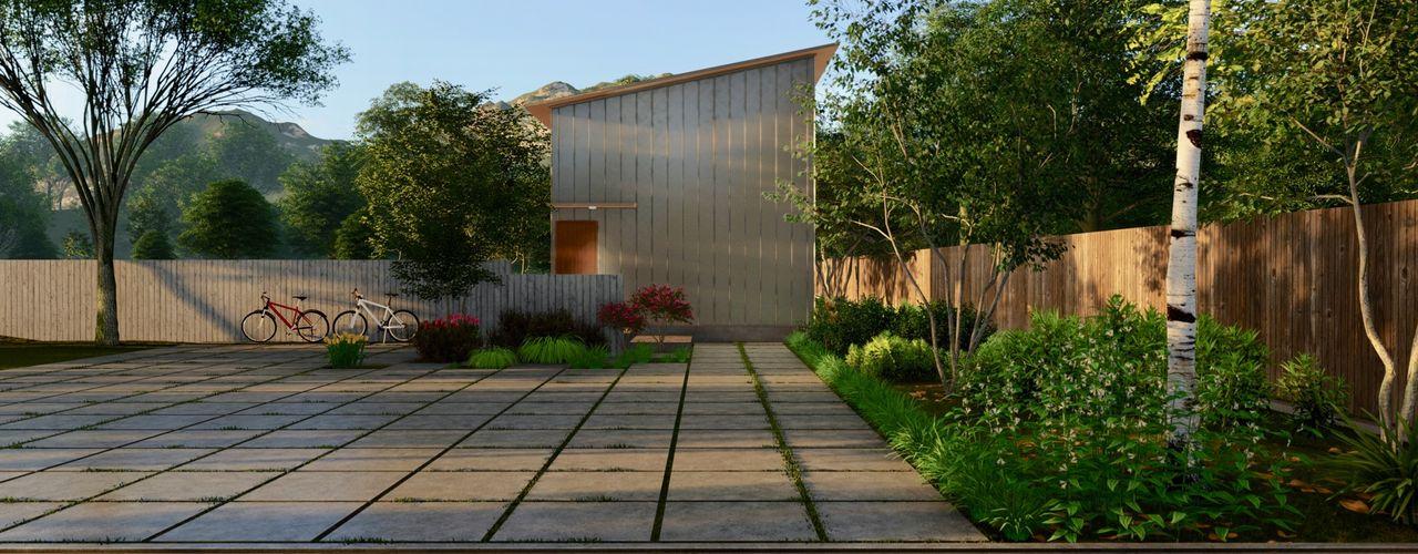 規格住宅 -TOGODESIGN CABIN- TOGODESIGN 北欧風 家 金属 メタリック/シルバー