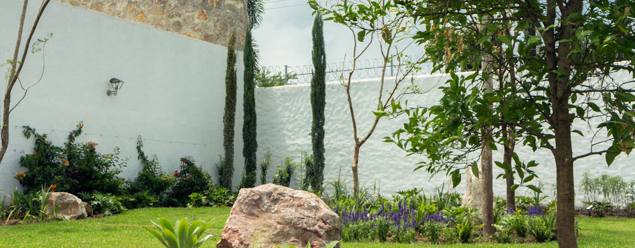 Terraza y Jardín MCM Boceto Arquitectos Paisajistas Jardines modernos