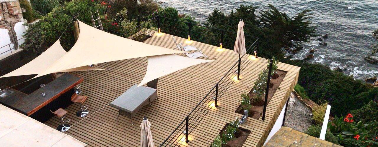 Hotel Boutique Santa Laura Nido Arquitectos Balcones y terrazas mediterráneos