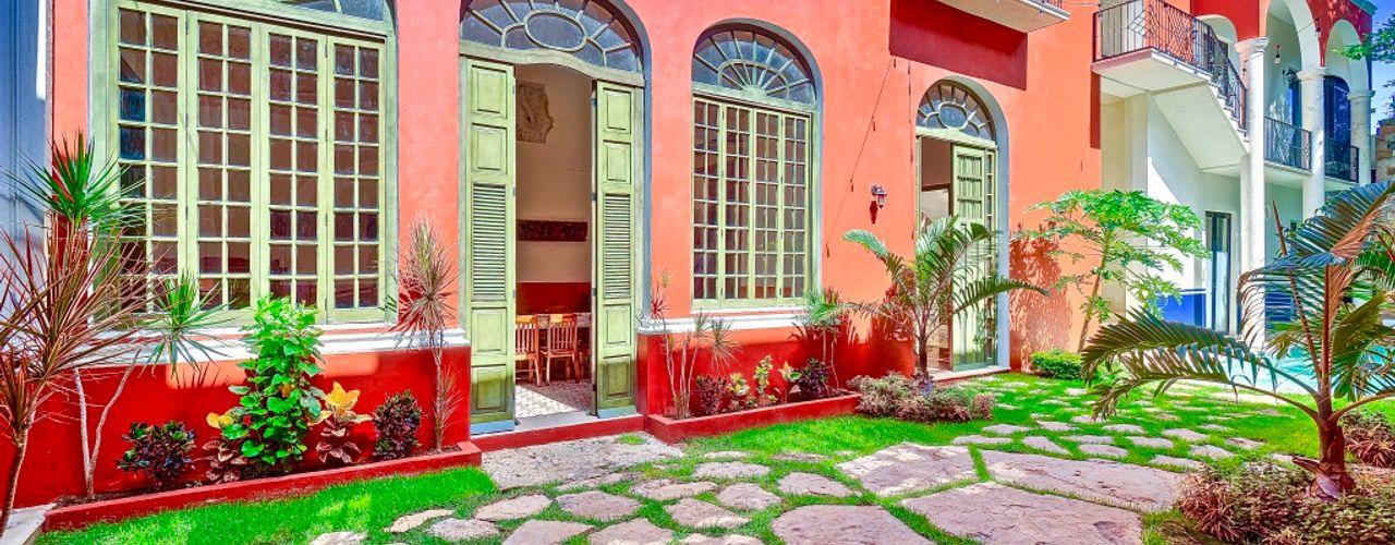 Merida Architects Giardino classico Pietra Marrone