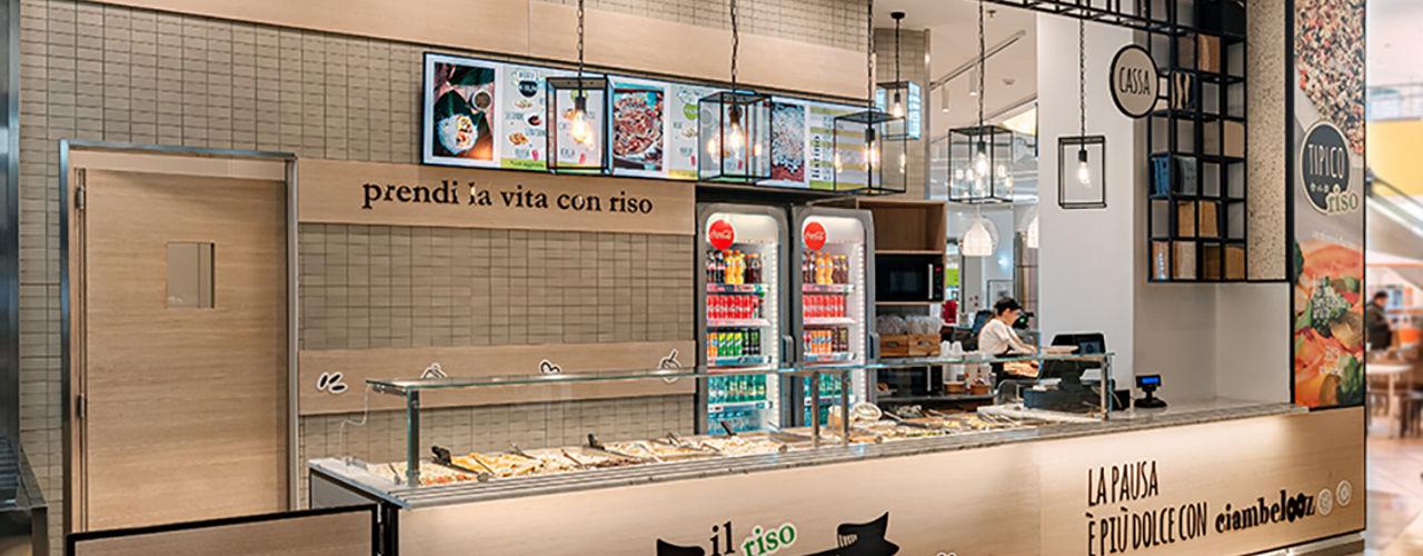 TIPICO riso manuarino architettura design comunicazione Gastronomia in stile industrial