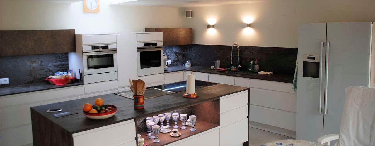 Cocina moderna en Alfaz del Pi Casa Interior
