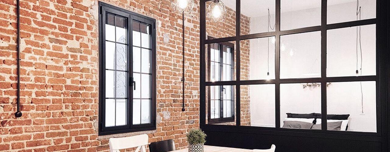 The White Interior Design Studio Walls