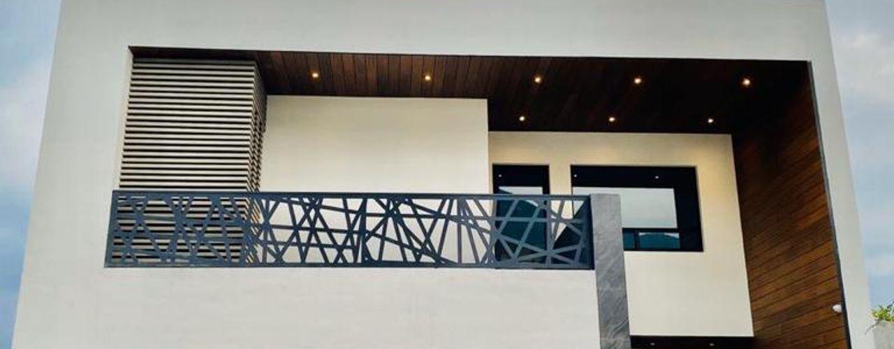 VALLE DE CRISTAL TRES/OCTAVOS Casas modernas