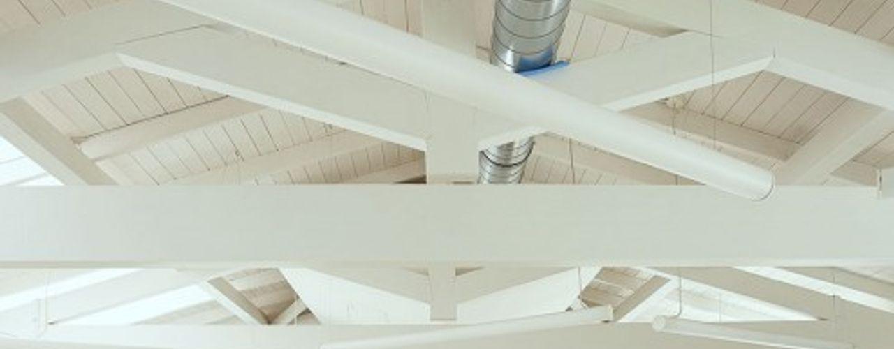 Tetto Silvestri Legnami srl Casa di legno Legno Bianco